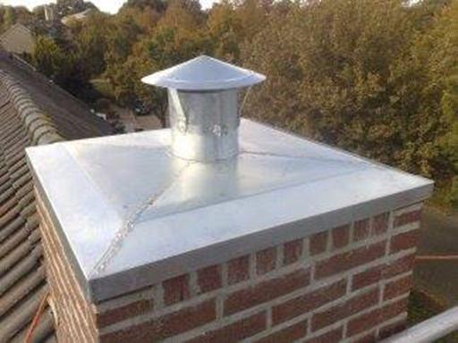 Reparatie lekkende schoorsteen voor woning in Zwolle